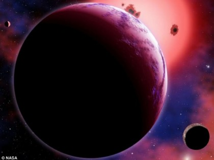 Super-Earth 40 Light Years Away