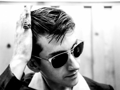 Alex Turner of Arctic Monkeys performs a solo acoustic set.